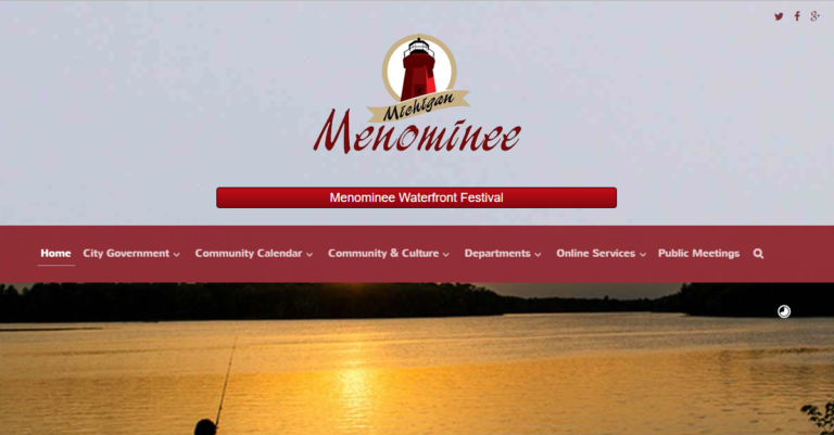 City of Menominee Home Page