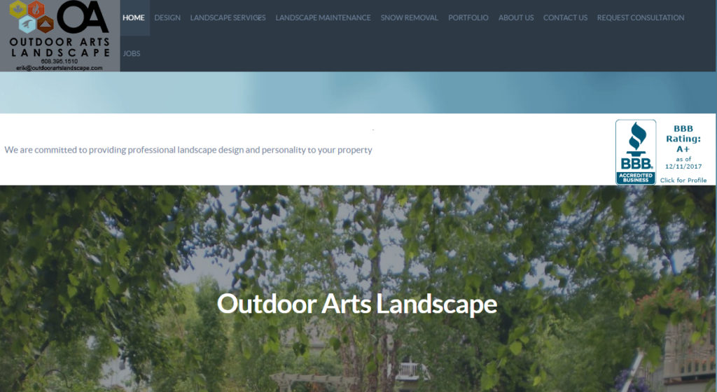 Outdoor Arts Landscape Home Page Image