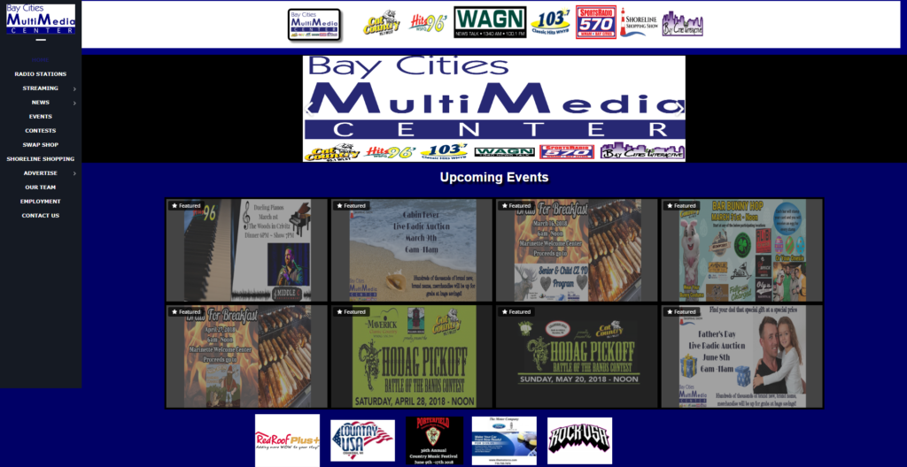Bay Cities Multimedia Website Image
